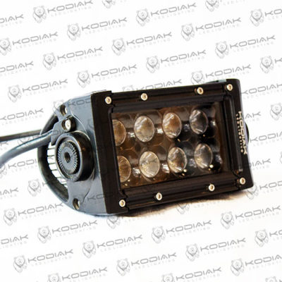 "4"" double row black LED light-bar"