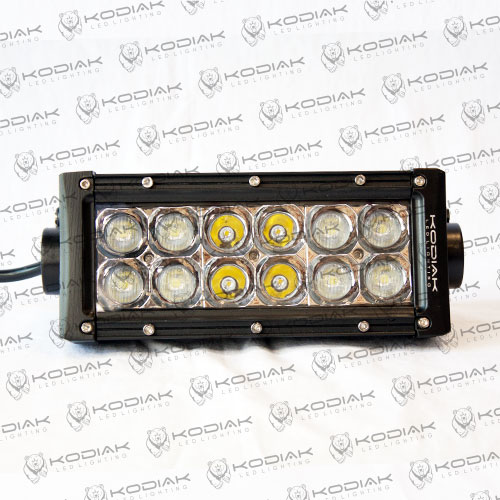 "6"" double row chrome LED Light"