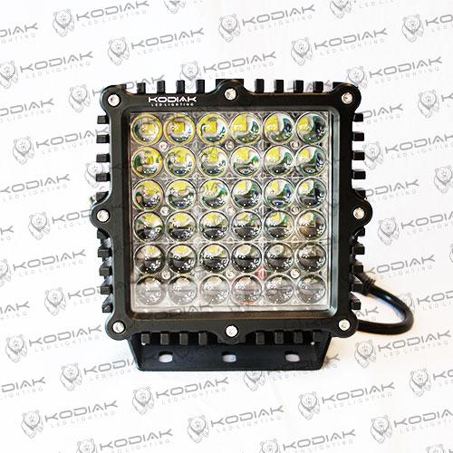 """9""""x9"""" square 4D 360 watt LED Light"""
