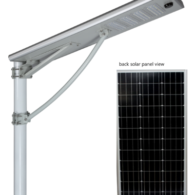 100w solar integrated area light