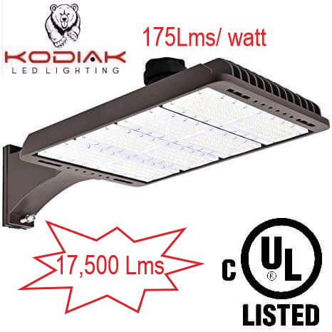 100w outdoor yard/shoebox light