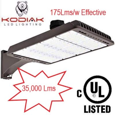 200w outdoor yard/shoebox light