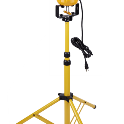 portable corn light tripod base