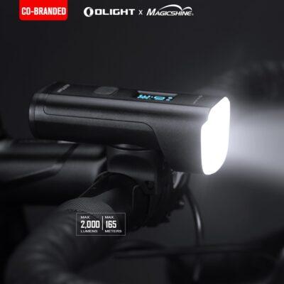 ALLTY2000 Rechargeable Bike Headlight