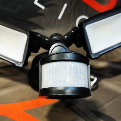 28W adjustable outdoor security light